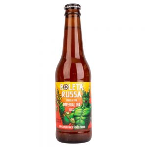 Cerveja Roleta Russa Imperial IPA Long Neck 355 ml