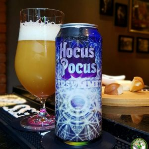 Cerveja Hocus Pocus Supersymmetry Triple NE IPA