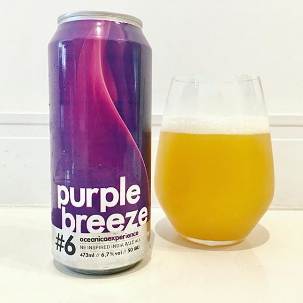 Cerveja Oceanica Purple Breeze