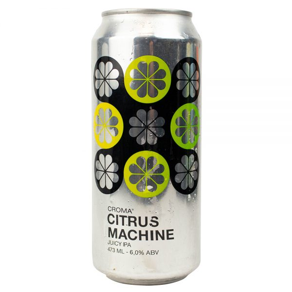 Cerveja Croma Citrus Machine Juicy IPA Lata 473 ml