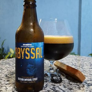 Cerveja 5 Elementos Abyssal Russian Imperial Stout
