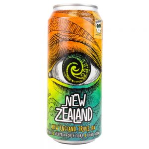 Cerveja Overhop New Zealand NE Triple IPA