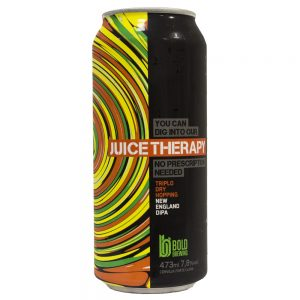 Cerveja Bold Juice Therapy Juicy IPA Lata 473 ml