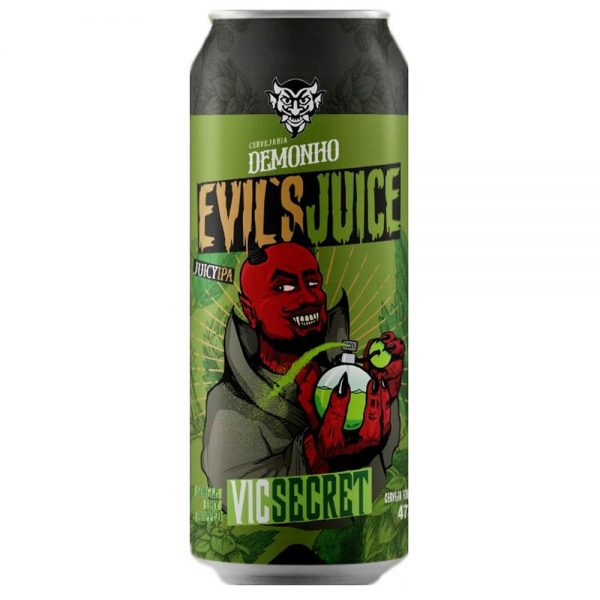 Cerveja Demonho Evils Juice Vic Secret Juicy IPA Lata 473 ml