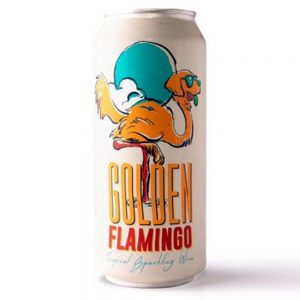Cerveja Bastards Golden Flamingo Lata 473 ml