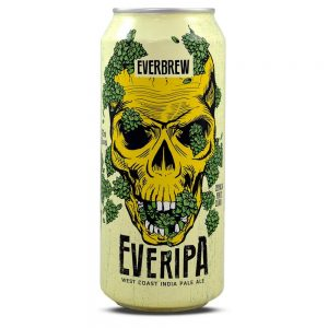 Cerveja Everbrew Everipa West Coast IPA Lata 473 ml