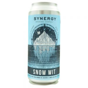 Cerveja Synergy Snow Wit Witbier Lata 473 ml