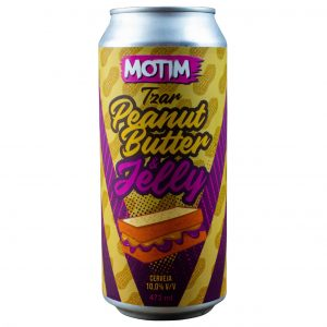 Cerveja Motim Tzar Peanut Butter & Jelly Imperial Pastry Stout Lata 473 ml