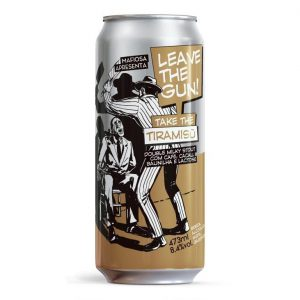 Cerveja Mafiosa Leave the Gun... Take the Tiramisú Double Milky Stout Lata 473 ml