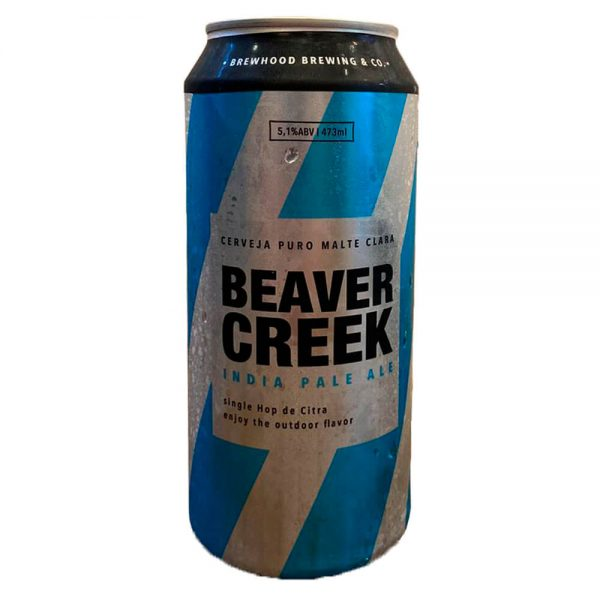 Cerveja Brewhood Beaver Creek IPA Lata 473 ml