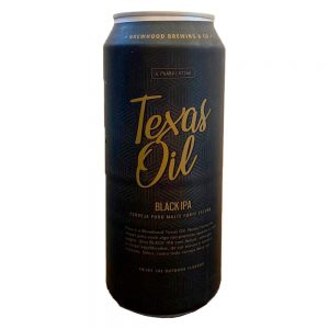 Cerveja Brewhood Texas Oil Black IPA Lata 473 ml