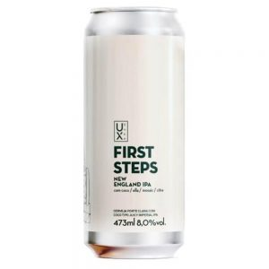 Cerveja Ux Brew First Steps NEIPA Lata 473 ml