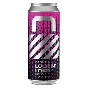 Cerveja Croma Lock N' Load Juicy IPA Lata 473 ml