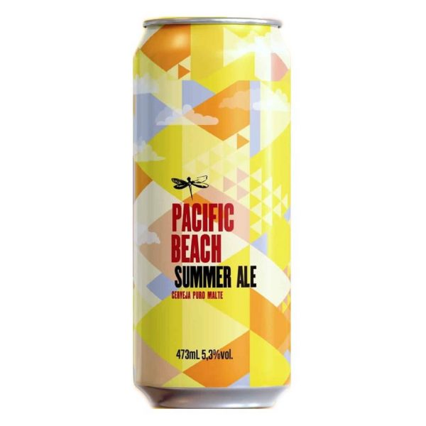 Cerveja Dádiva Pacific Beach Summer Ale Lata 473 ml