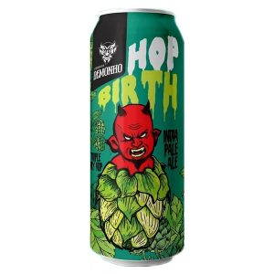Cerveja Demonho Hop Birth West Coast IPA Lata 473 ml