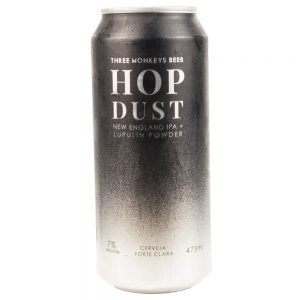 Cerveja Three Monkeys Hop Dust NEIPA Lata 473 ml