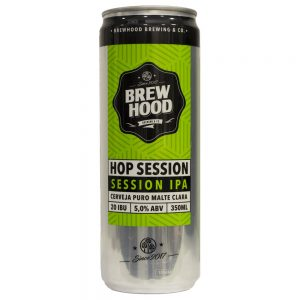 Cerveja Brewhood Hop Session Session IPA Lata 350 ml
