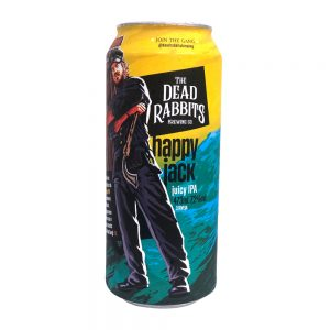 Cerveja The Dead Rabbits Happy Jack Juicy IPA Lata 473 ml