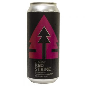 Cerveja Croma Red Strike Sour Ale Lata 473 ml
