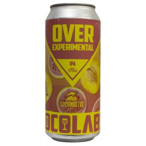 Cerveja Locomotive OverExperimental IPA Lata 473 ml