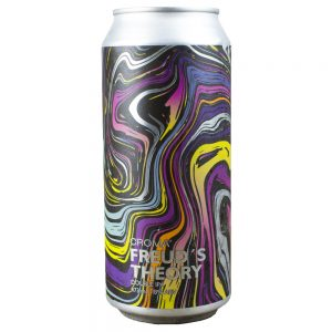 Cerveja Croma Freud´s Theory Double IPA Lata 473 ml