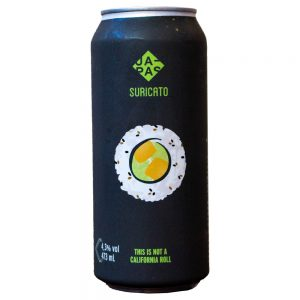 Cerveja Japas / Suricato This Is Not a California Roll Berliner Weisse Lata 473 ml