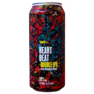 Cerveja Dádiva Heart Beat Double IPA Lata 473 ml