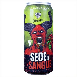 Cerveja Demonho Sede de Sangue Juicy IPA Lata 473 ml