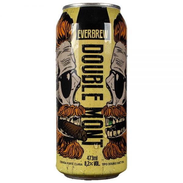 Cerveja Everbrew Double Mont Double Juicy IPA Lata 473 ml