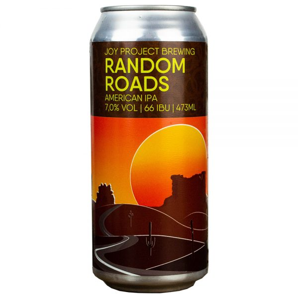 Cerveja Joy Project Random Roads American IPA Lata 473 ml
