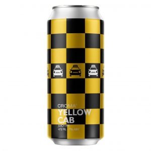 Cerveja Croma Yellow Cab Juicy IPA Lata 473 ml