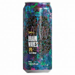 Cerveja Dádiva Brain Waves NEIPA Lata 473 ml