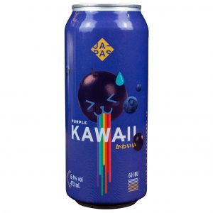 Cerveja Japas Kawaii Purple NEIPA Lata 473 ml
