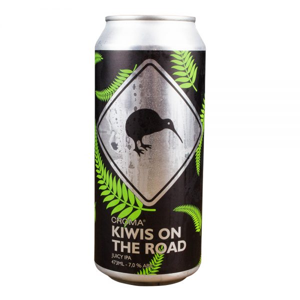 Cerveja Croma Kiwis on the Road Juicy IPA Lata 473 ml