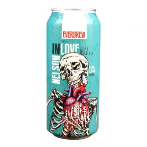 Cerveja Everbrew Nelson in Love NEIPA Lata 473 ml