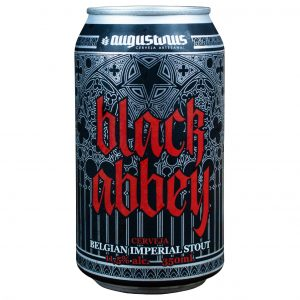 Cerveja Augustinus Black Abbey RIS Lata 350 ml