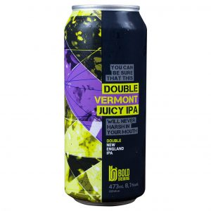 Cerveja Bold Double Vermont Juicy Double IPA Lata 473 ml
