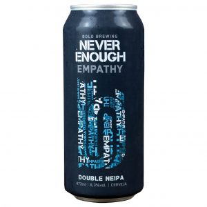 Cerveja Bold Never Enough Empathy NEDIPA Lata 473 ml