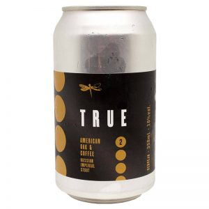 Cerveja Dádiva True American Oak and Coffee RIS Lata 350 ml