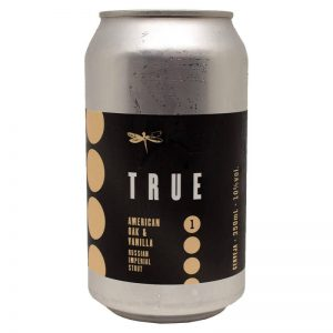 Cerveja Dádiva True American Oak and Vanilla Lata 350 ml