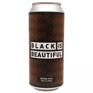 Cerveja Octopus Black is Beautiful Imperial Stout Lata 473 ml