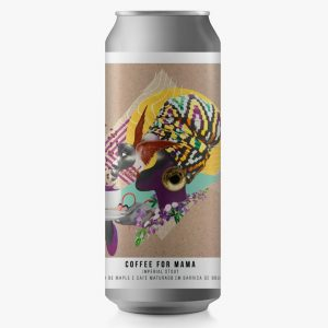 Cerveja Octopus Coffee for Mama Imperial Stout Lata 473 ml