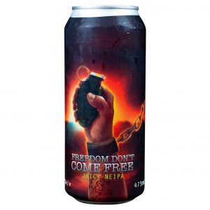 Cerveja Spartacus Freedom Don´t Come Free NEIPA Lata 473 ml