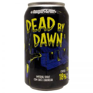 Cerveja Augustinus Dead By Dawn RIS Lata 350 ml