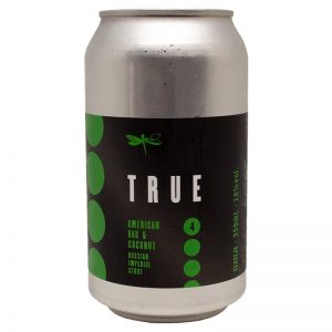 Cerveja Dádiva True American Oak and Coconut RIS Lata 350 ml