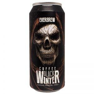 Cerveja Everbrew Black Winter Coffee RIS Lata 473 ml