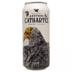 Cerveja Abutres Cathartes Juicy IPA Lata 473 ml