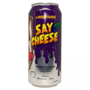 Cerveja Augustinus Say Cheese Imperial Sour Lata 473 ml