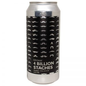 Cerveja Croma 4 Billion Staches Juicy Double IPA Lata 473 ml