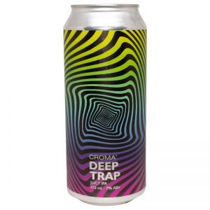 Cerveja Croma Deep Trap Juicy IPA lata 473 ml